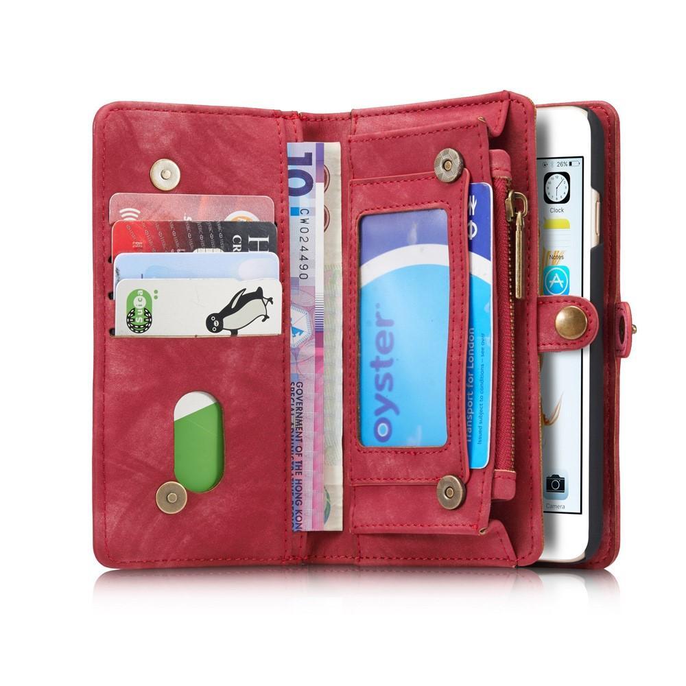 Multi-slot Suojakotelo iPhone 6/6S punainen