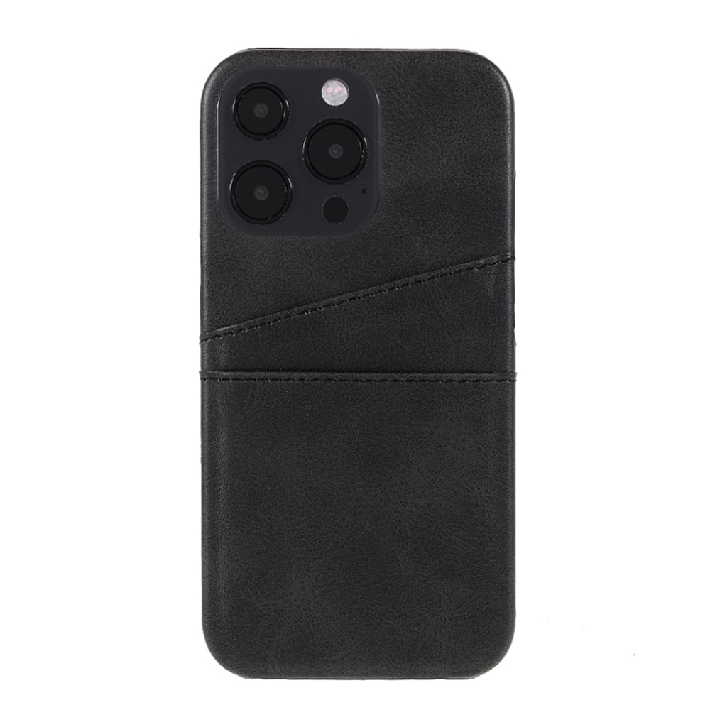 Card Slots Case Apple iPhone 13 Pro musta