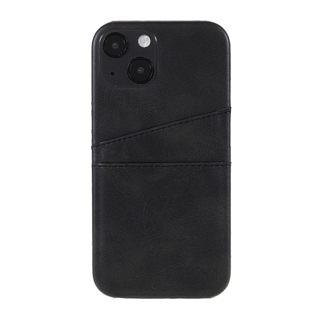 Card Slots Case Apple iPhone 13 Mini musta