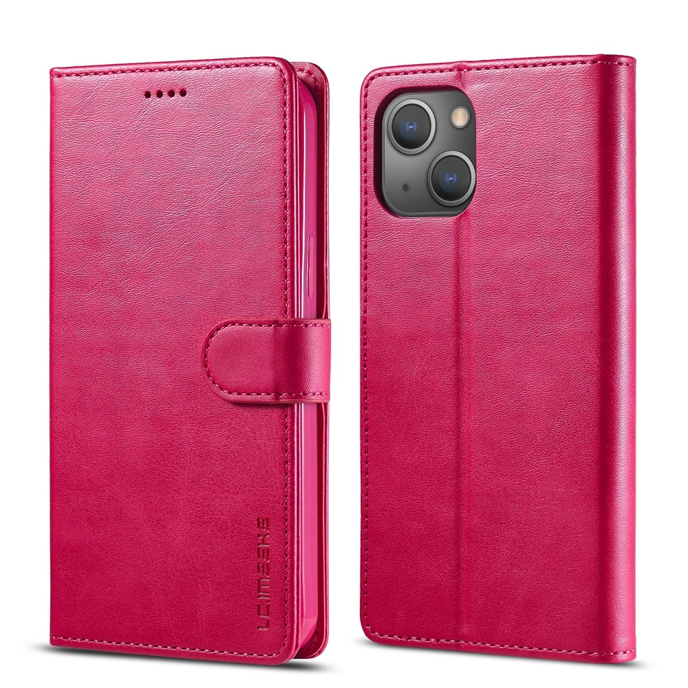 Lompakkokotelot iPhone 13 vaaleanpunainen