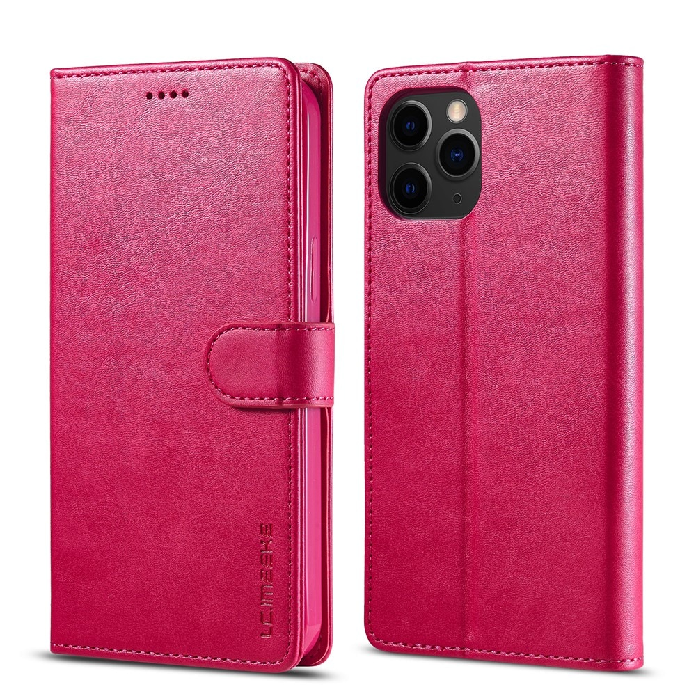 Lompakkokotelot iPhone 13 Pro vaaleanpunainen