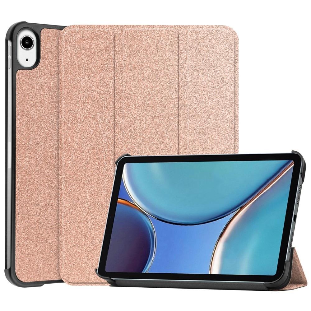 Kotelo Tri-fold iPad Mini 6 2021 ruusukulta