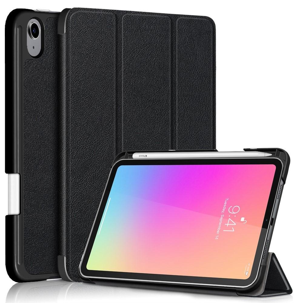 Kotelo Tri-fold Kynäpidikkeellä iPad Mini 6 2021musta