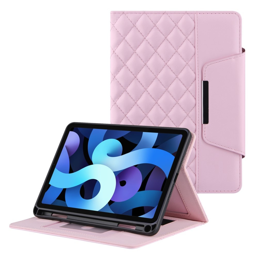 Kotelo Apple iPad 10.2/Air 2019/Pro 10.5 Quilted vaaleanpunainen