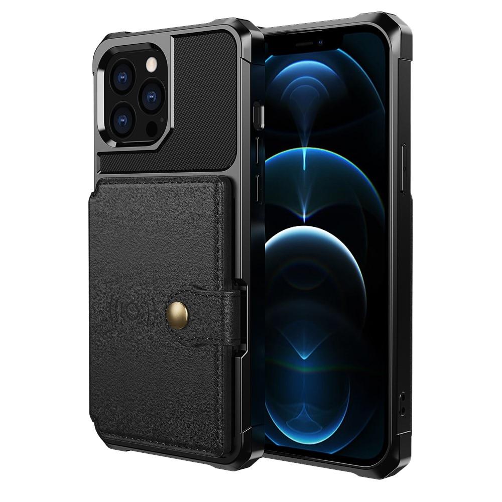 Tough Multi-slot Case iPhone 13 Pro Max musta