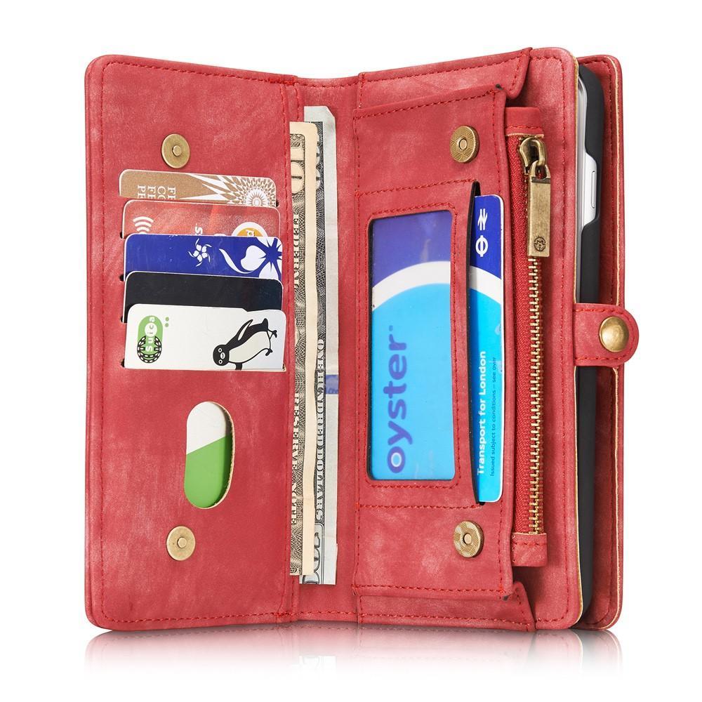 Multi-slot Suojakotelo iPhone 7 Plus/8 Plus punainen