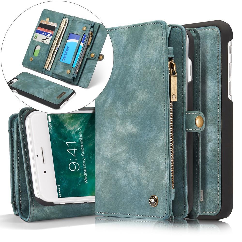 Multi-slot Suojakotelo iPhone 7 Plus/8 Plus  sininen