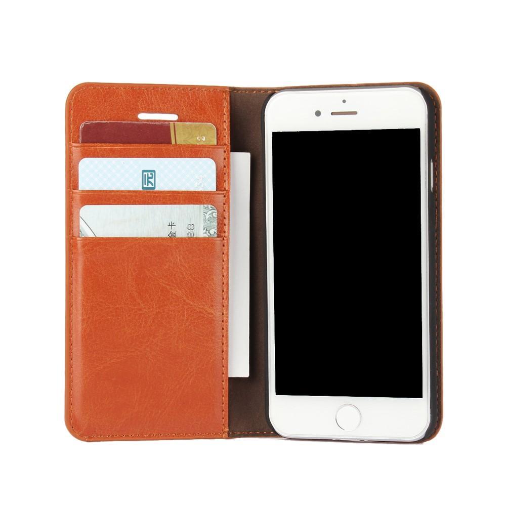 Suojakotelo Aito Nahka iPhone 7/8/SE 2020 ruskea