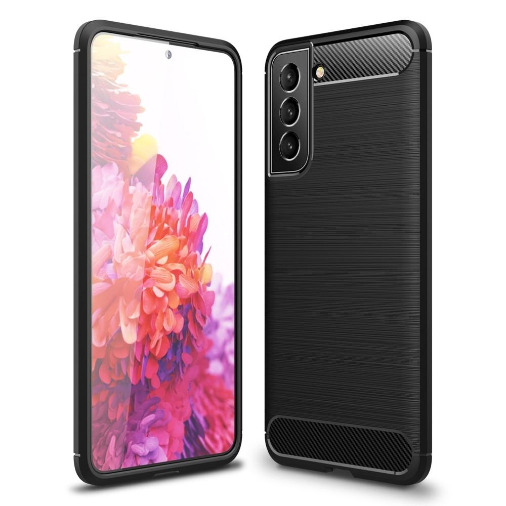 Brushed TPU Kuori Samsung Galaxy S21 FE Black