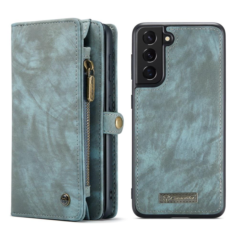 Multi-slot Suojakotelo Galaxy S21 FE sininen