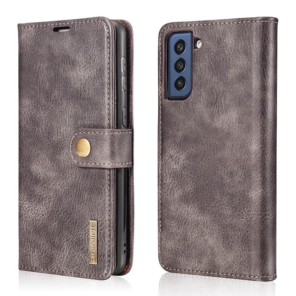 Magnet Wallet Samsung Galaxy S21 FE Brown