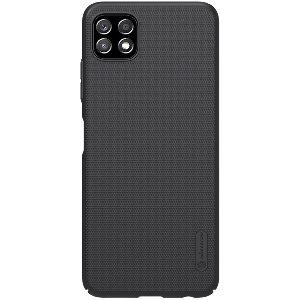 Super Frosted Shield Samsung Galaxy A22 5G musta