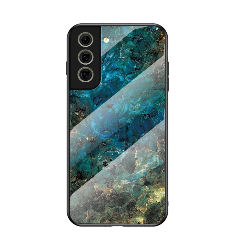 Panssarilasi Kuori Samsung Galaxy S21 FE emerald