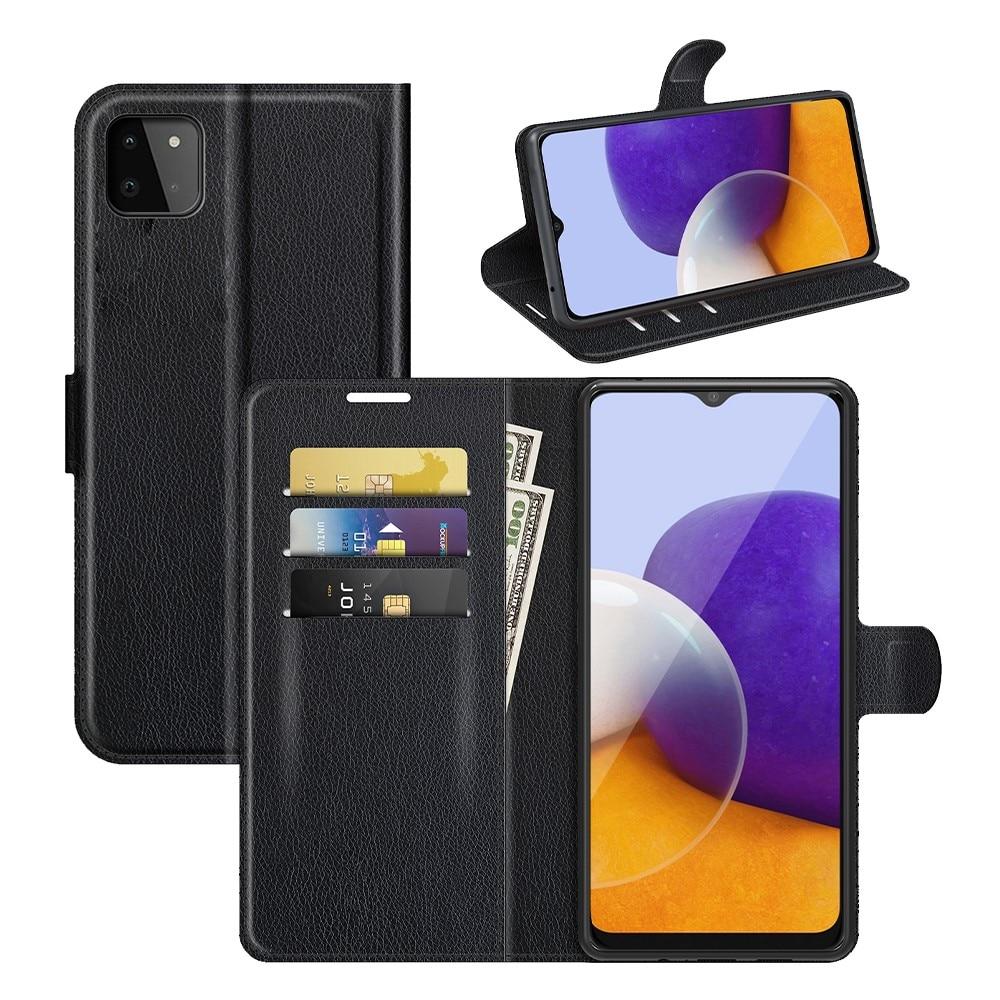 Suojakotelo Samsung Galaxy A22 5G musta