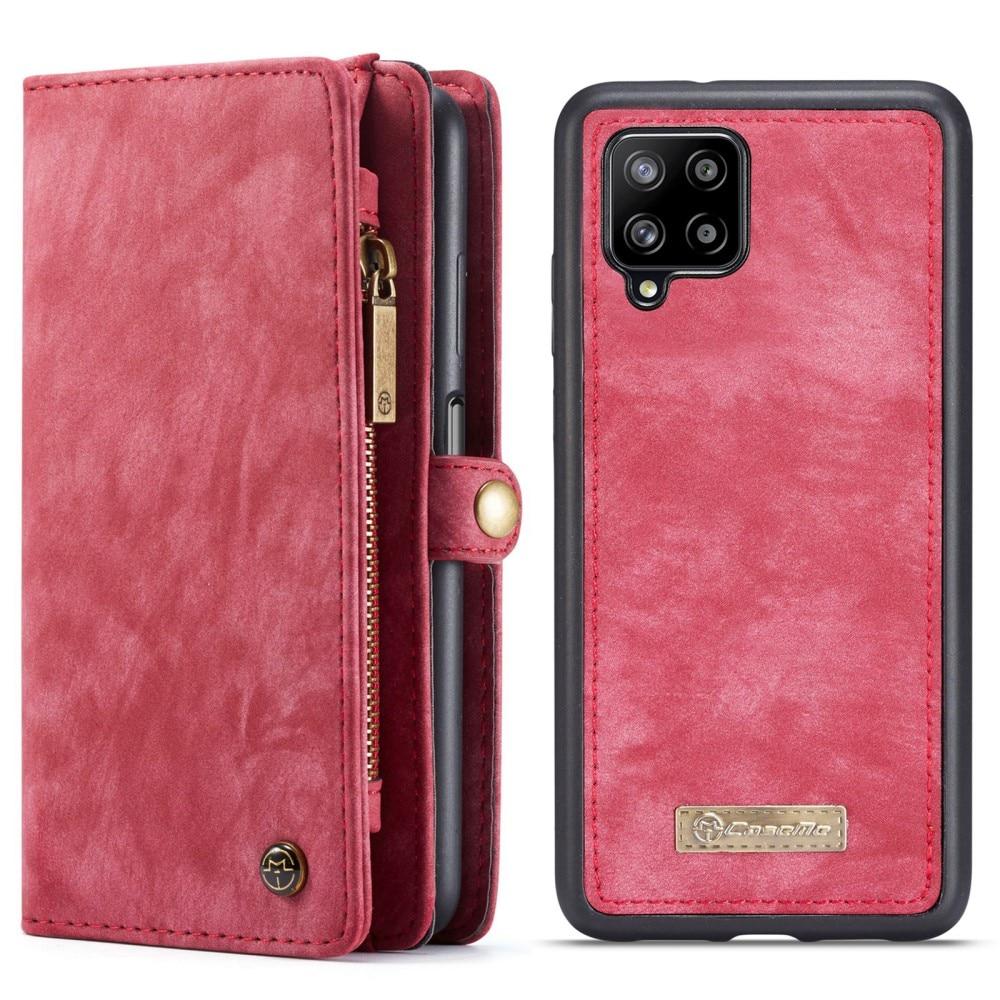 Multi-slot Suojakotelo Samsung Galaxy A12 punainen