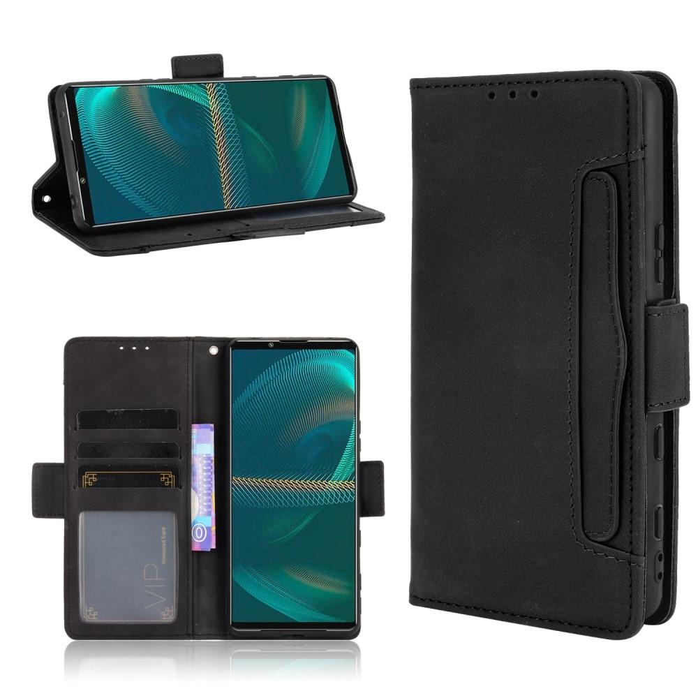 Multi Lompakkokotelo Sony Xperia 5 III musta