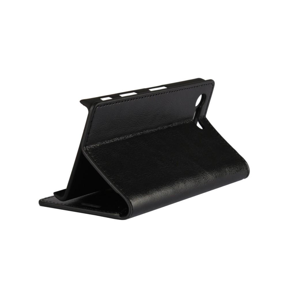 Suojakotelo Aito Nahka Sony Xperia X Compact musta