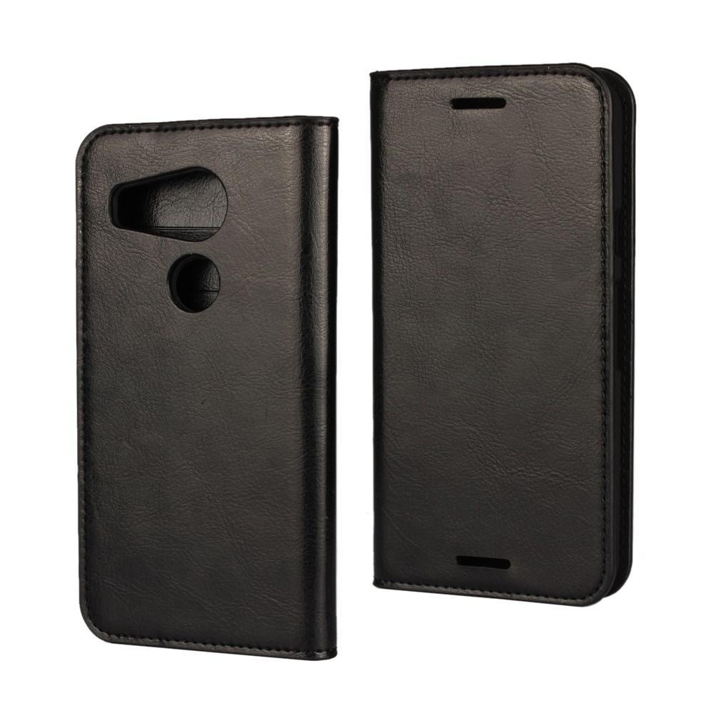 Suojakotelo Aito Nahka Nexus 5X musta
