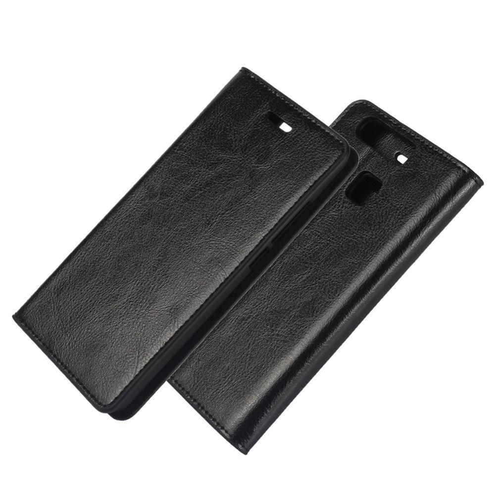 Suojakotelo Aito Nahka Huawei P9 musta