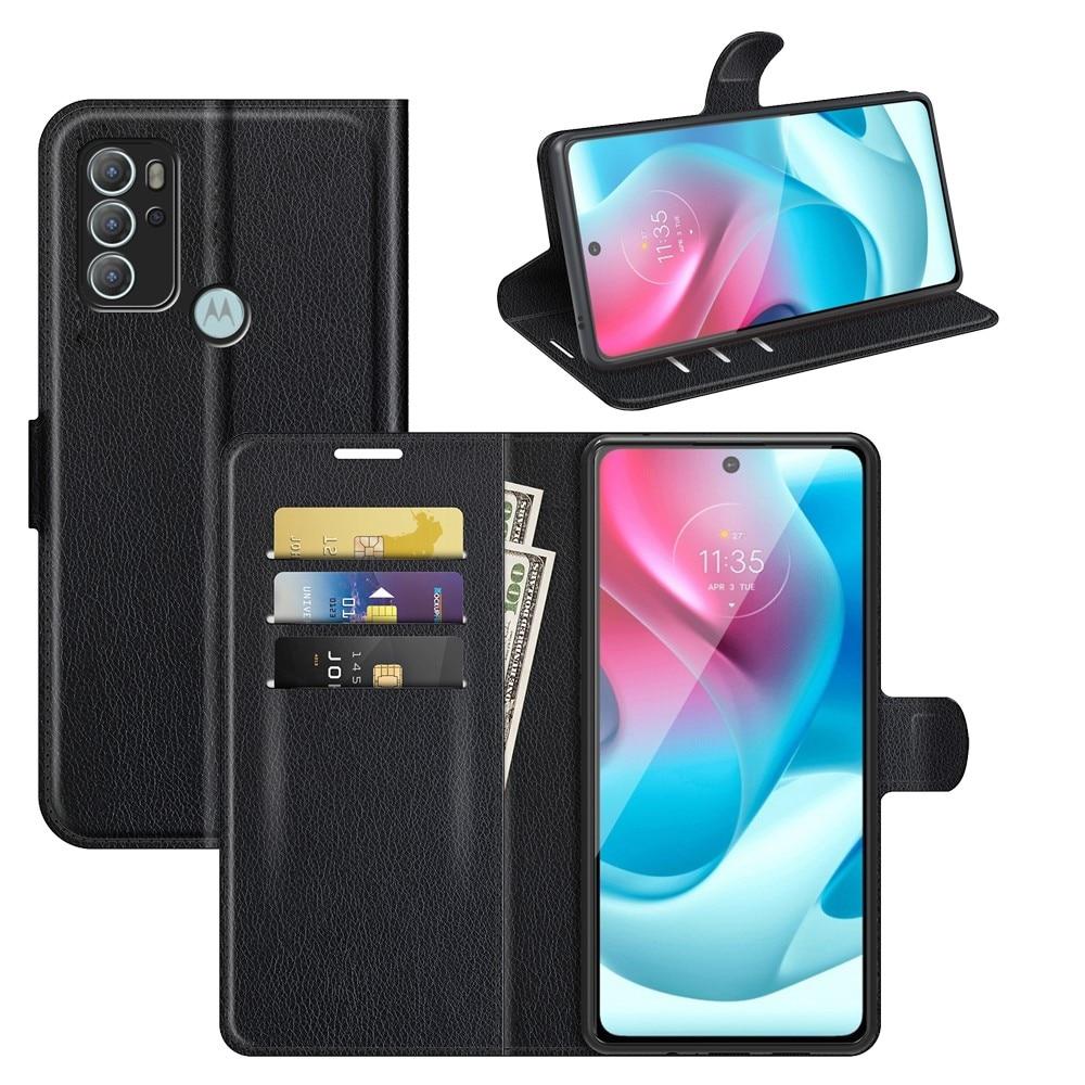 Suojakotelo Motorola Moto G60s musta