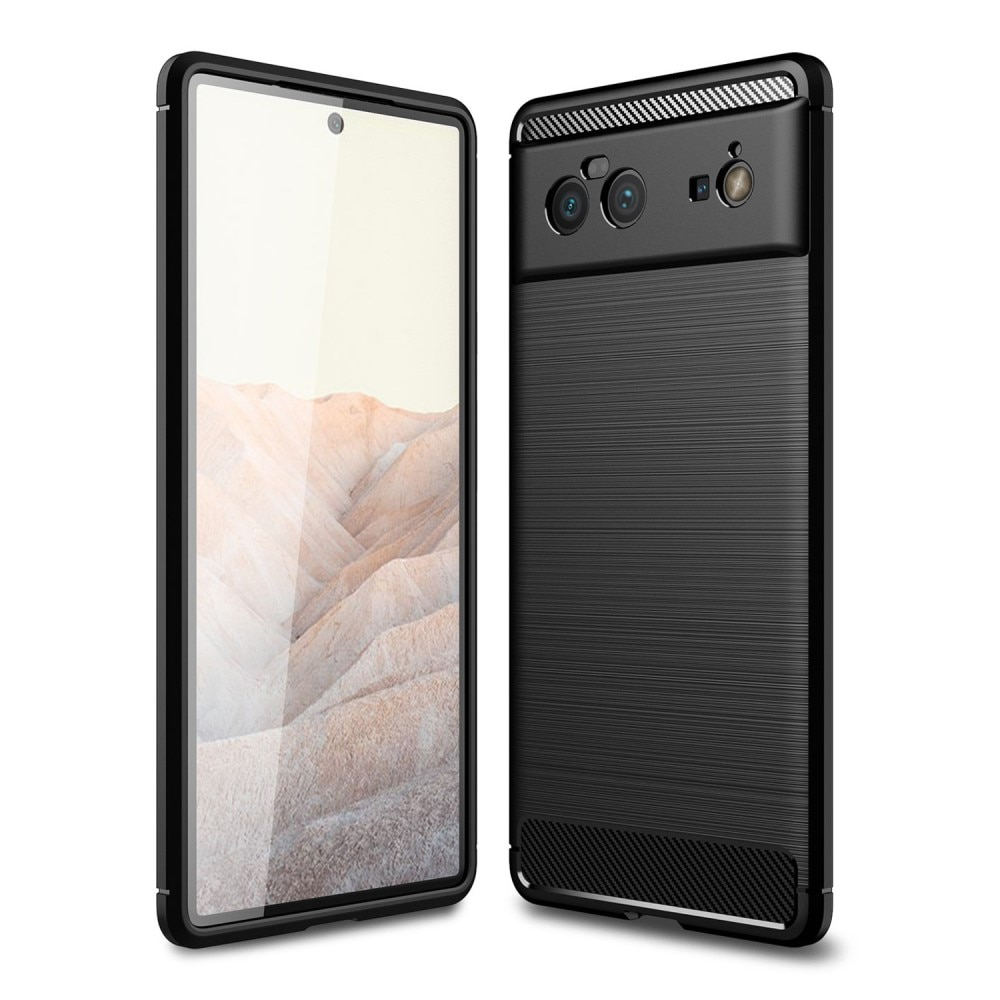 Brushed TPU Kuori Google Pixel 6 Black