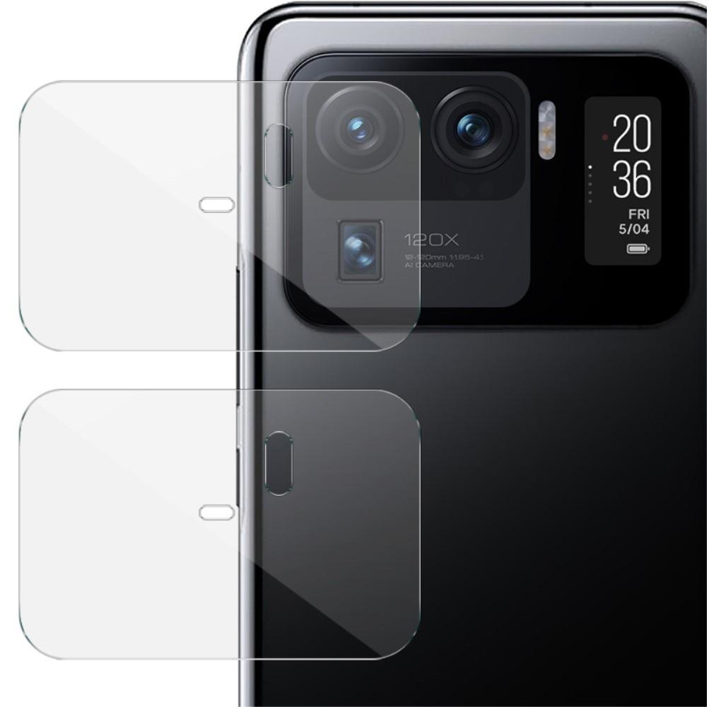 2-pack Panssarilasi Kameran Linssinsuoja Xiaomi Mi 11 Ultra