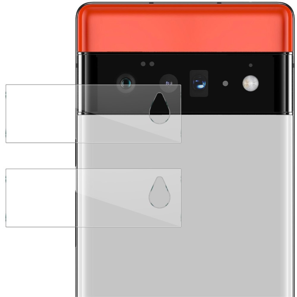 2-pack Panssarilasi Kameran Linssinsuoja Google Pixel 6 Pro
