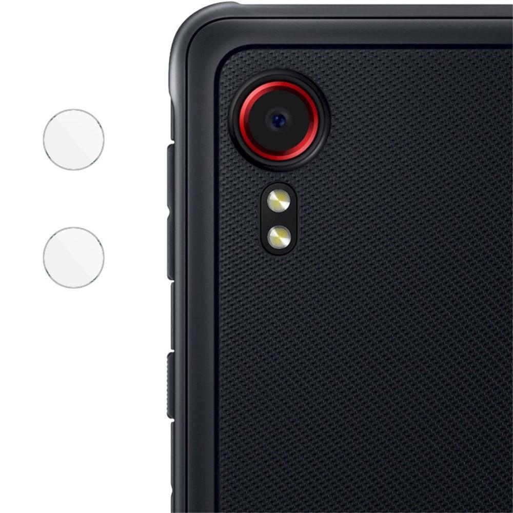 2-pack Panssarilasi Kameran Linssinsuoja Galaxy Xcover 5