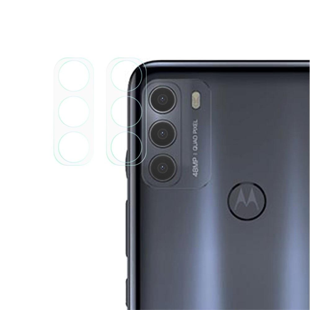 2-pack Panssarilasi Kameran Linssinsuoja Motorola Moto G50
