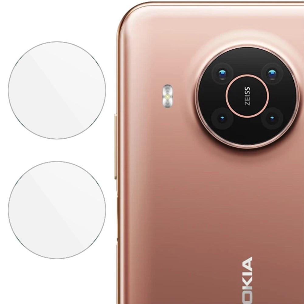 2-pack Panssarilasi Kameran Linssinsuoja Nokia X10/X20