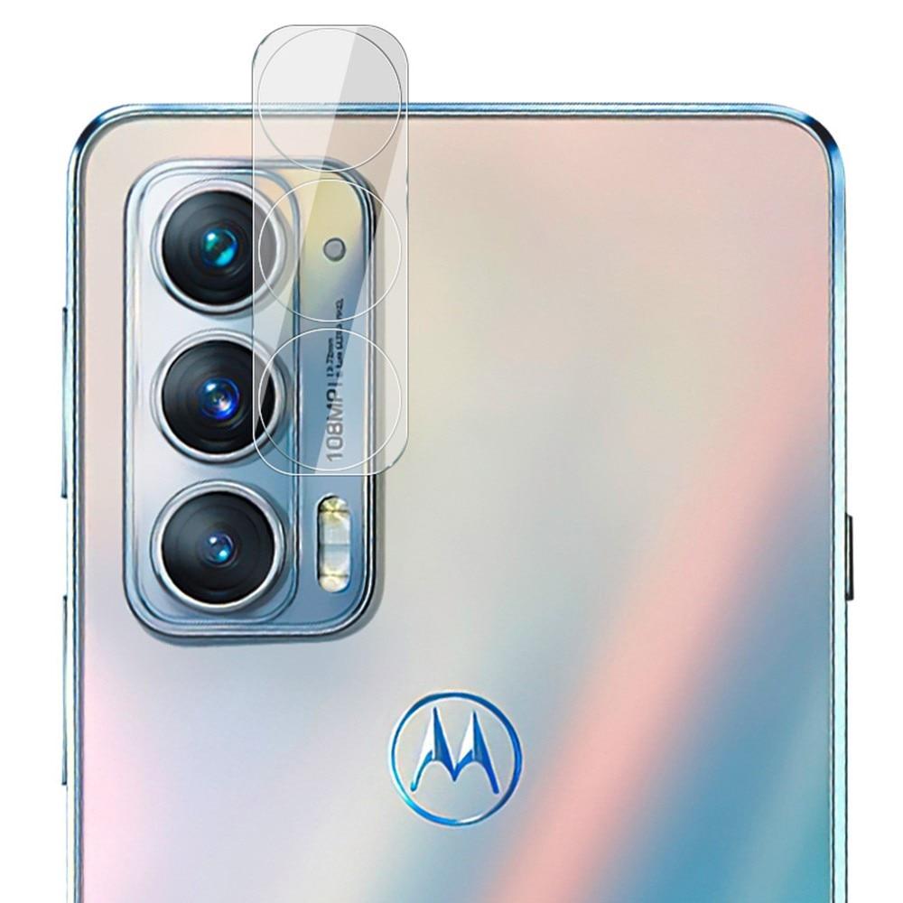 Panssarilasi Kameran Linssinsuoja Motorola Edge 20