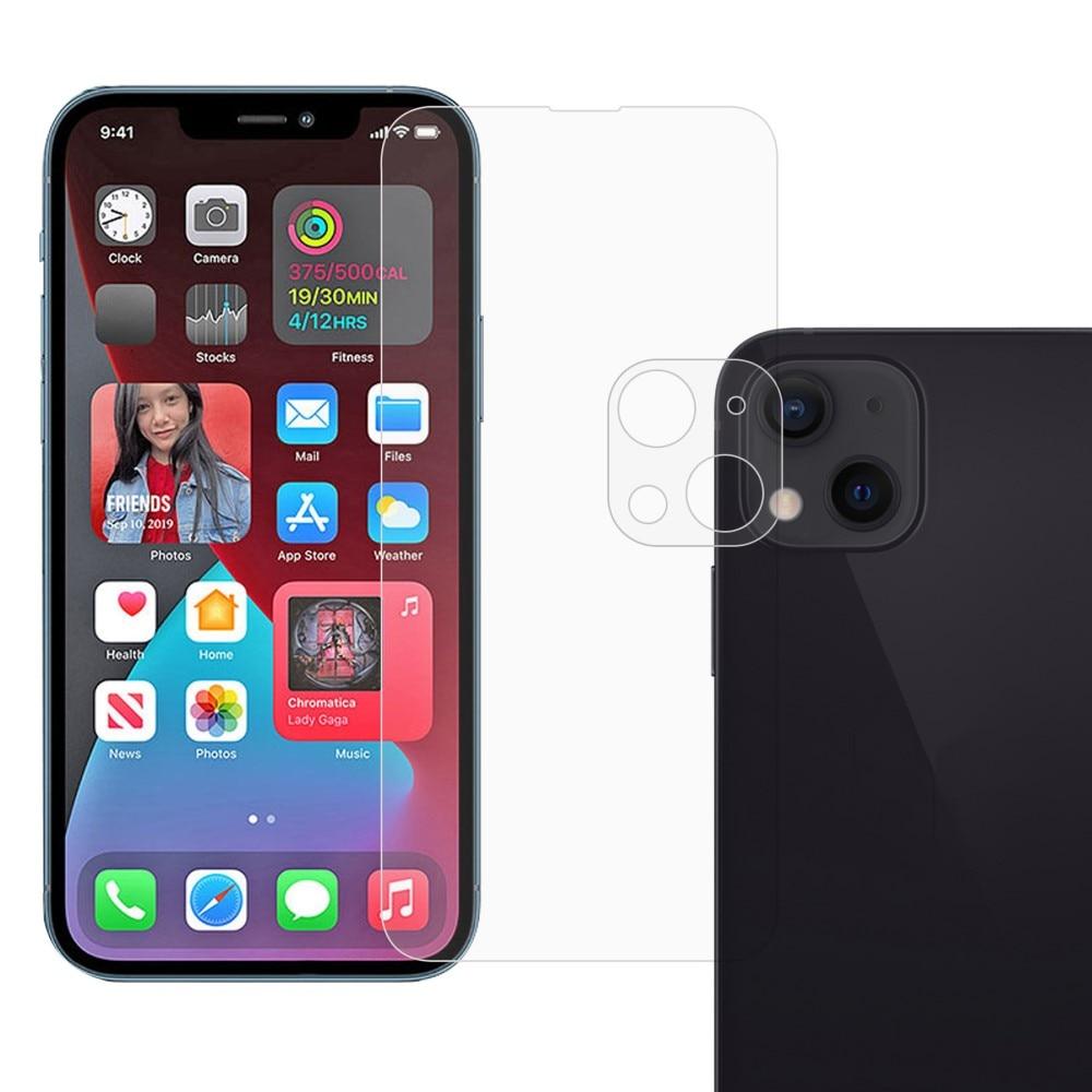 Panssarilasi Näytön & Kameran Linssinsuoja iPhone 13 Mini