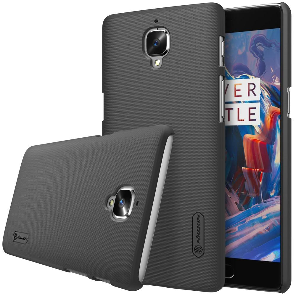 Super Frosted Shield OnePlus 3/3T musta