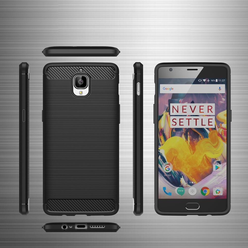Brushed TPU Kuori for OnePlus 3/3T black