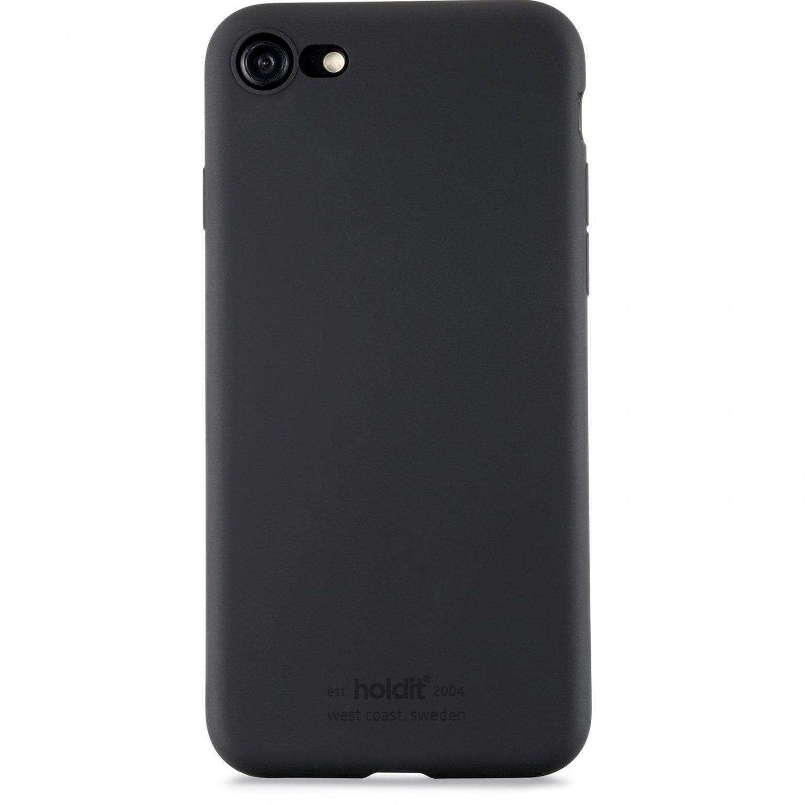Silikonikuori iPhone 7/8/SE 2020 Musta