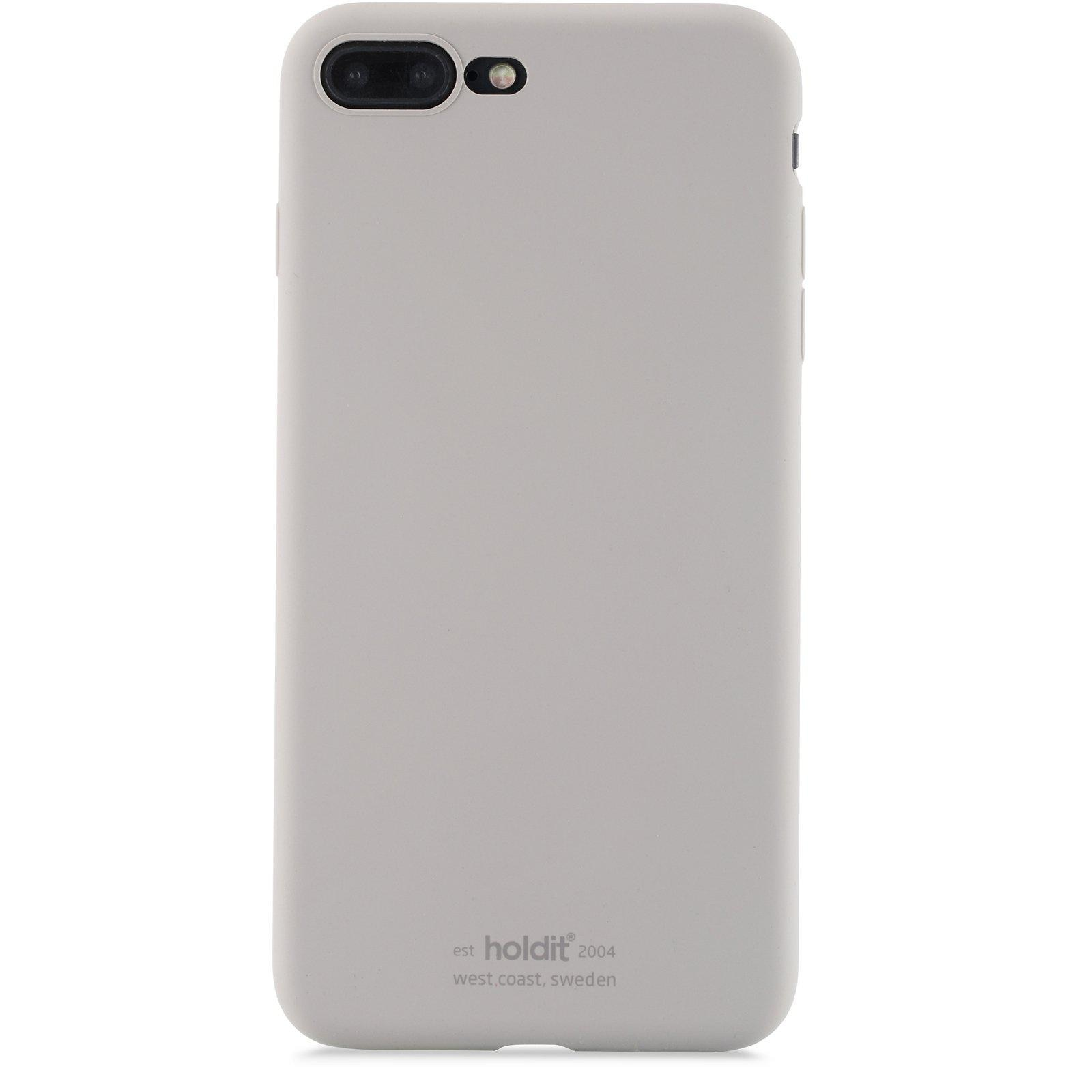 Silikonikuori iPhone 7 Plus/8 Plus Taupe