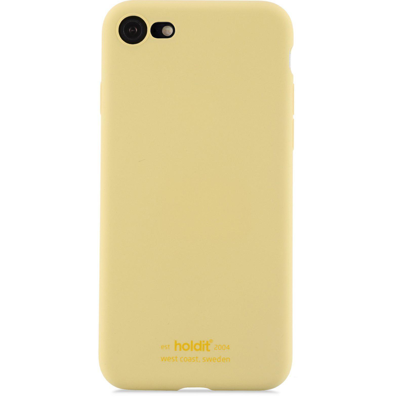 Silikonikuori iPhone 7/8/SE 2020 Yellow