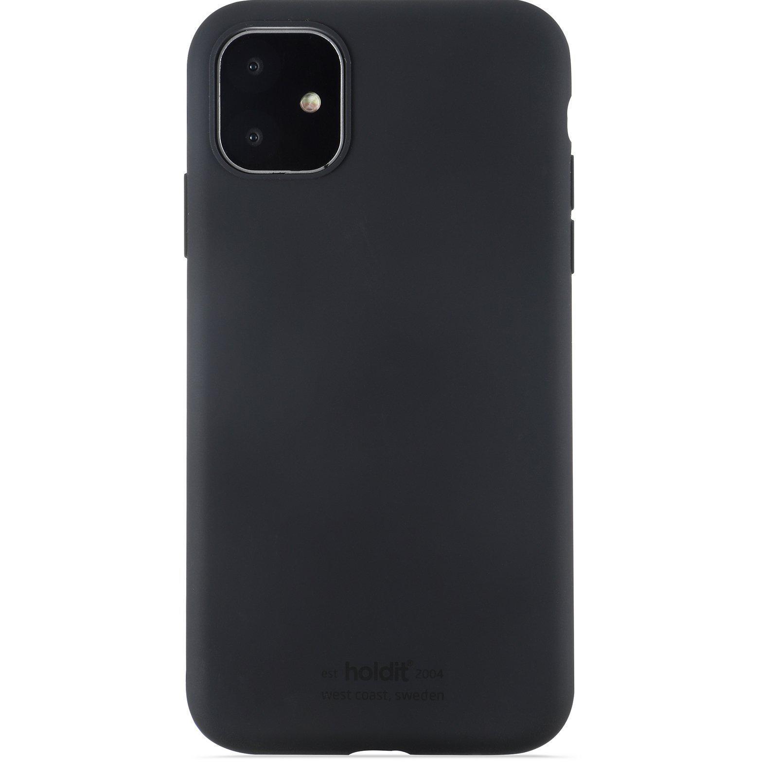 Silikonikuori iPhone 11/XR Musta
