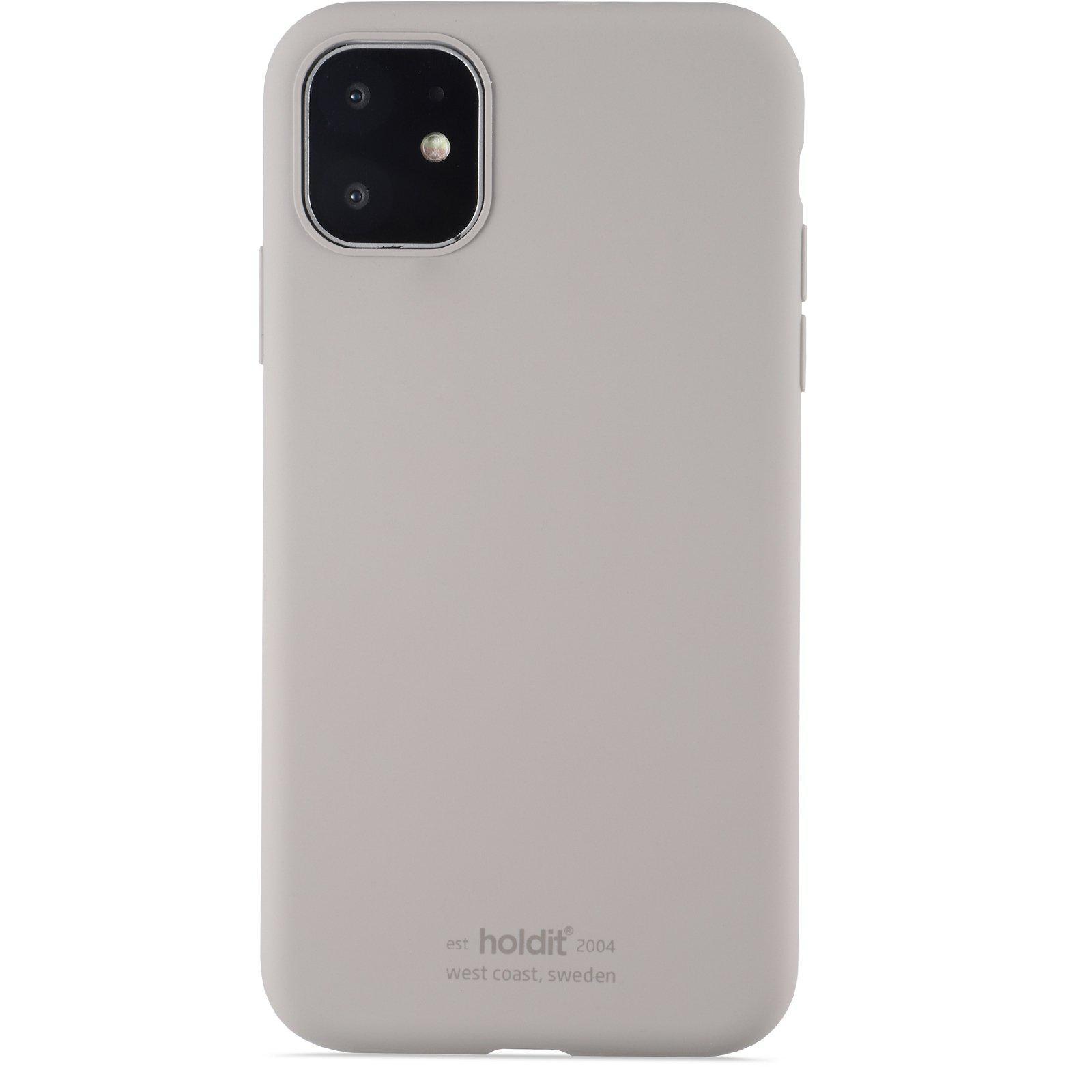 Silikonikuori iPhone 11/XR Taupe