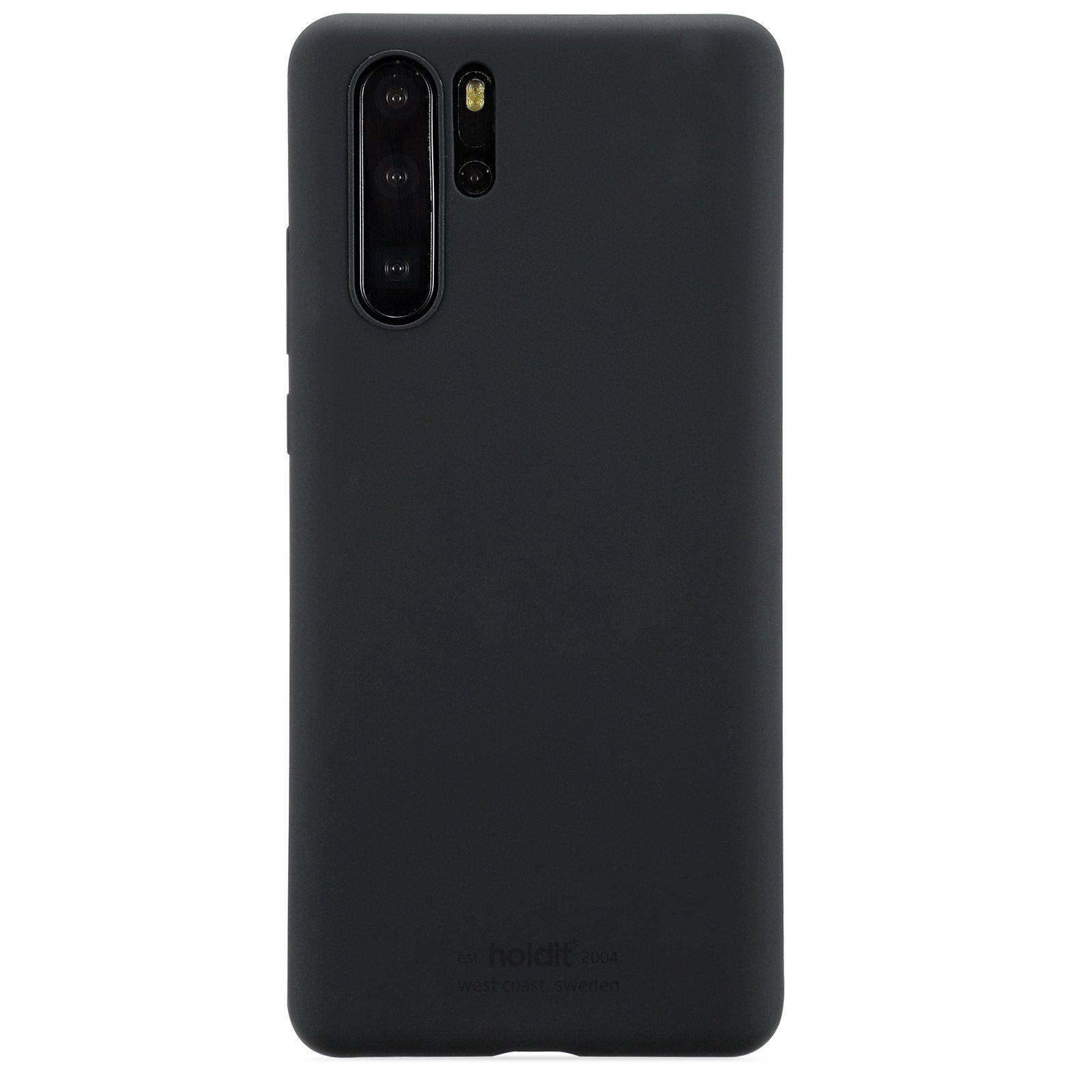 Silikonikuori Huawei P30 Pro Musta