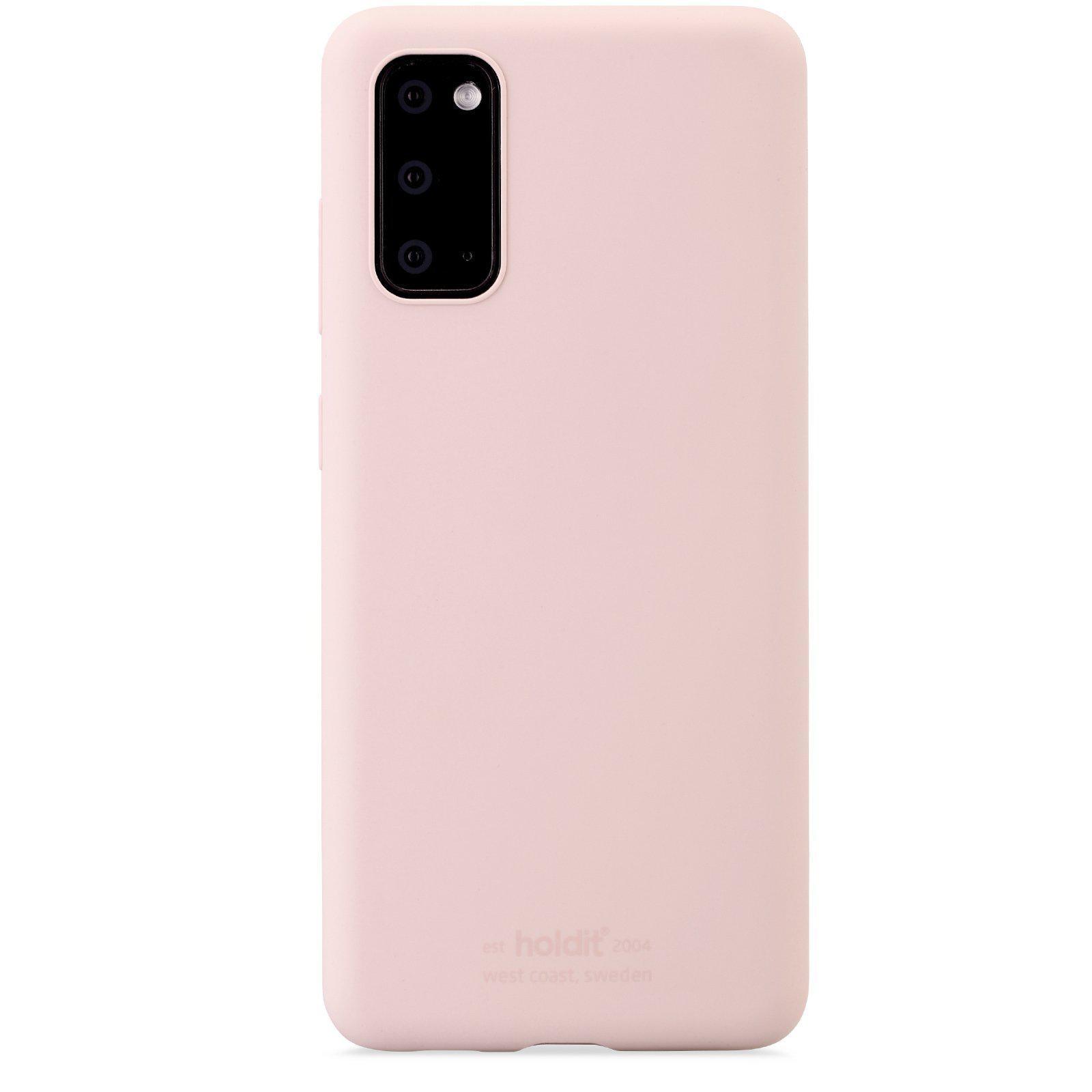 Silikonikuori Galaxy S20 Blush Pink