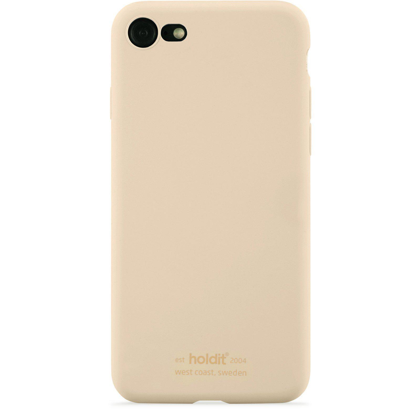 Silikonikuori iPhone 7/8/SE 2020 Beige