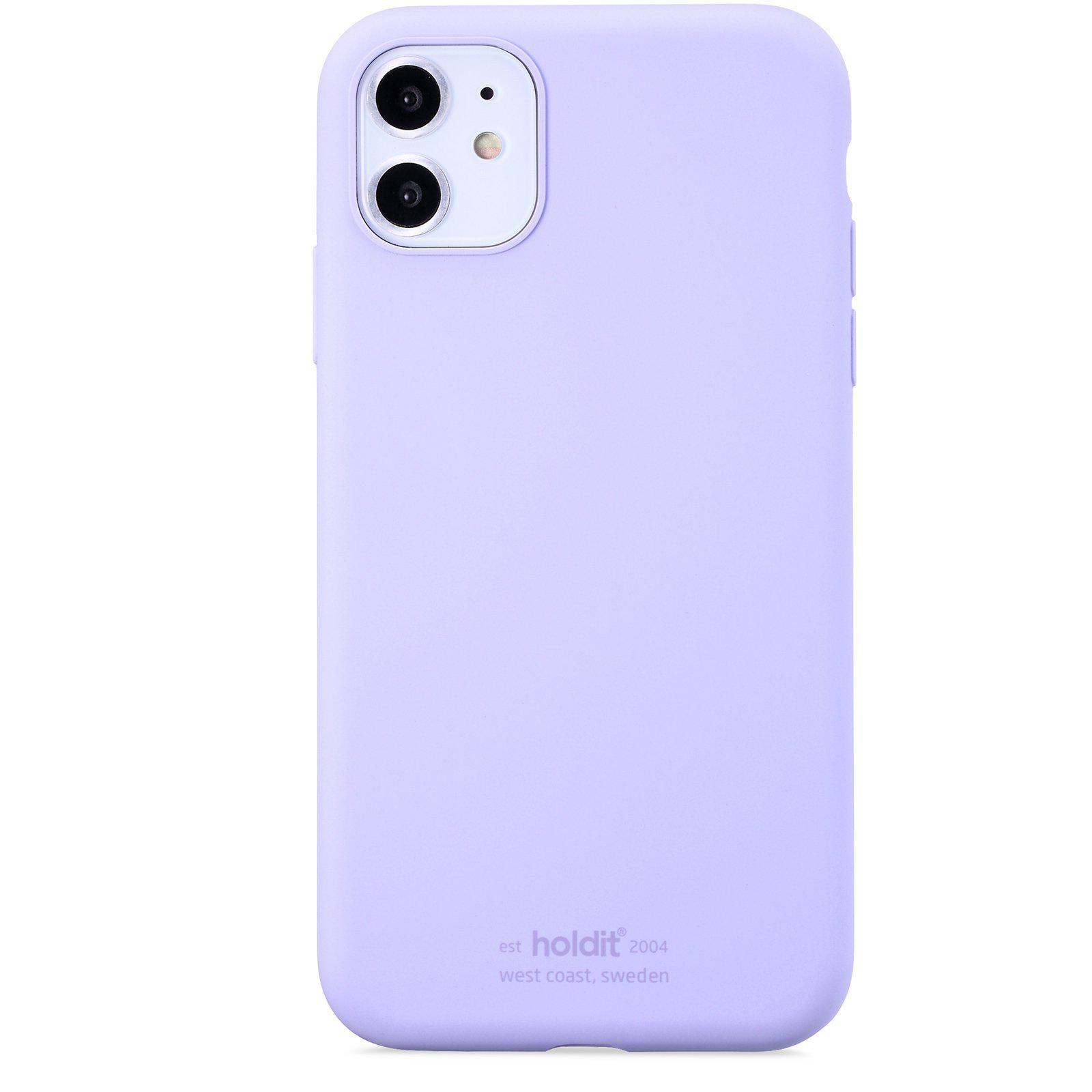 Silikonikuori iPhone 11/XR Lavender