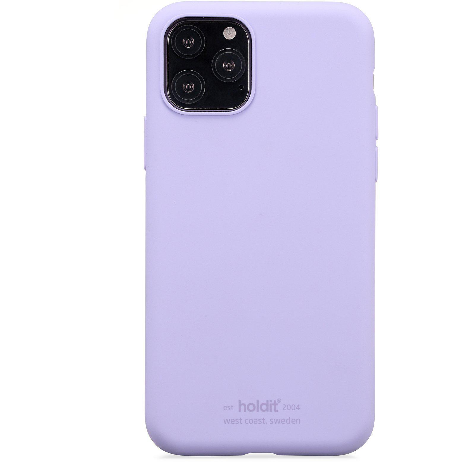 Silikonikuori iPhone 11 Pro/XS/X Lavender