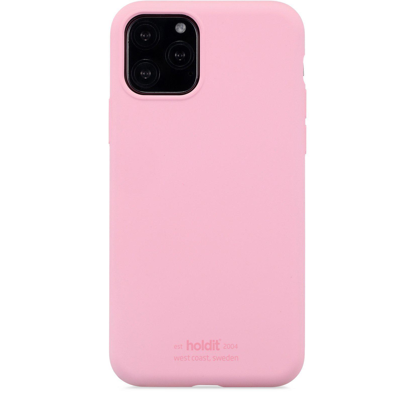 Silikonikuori iPhone 11 Pro/XS/X Pink