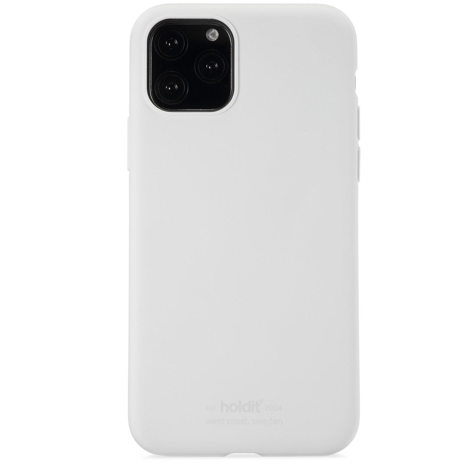 Silikonikuori iPhone 11 Pro/XS/X White