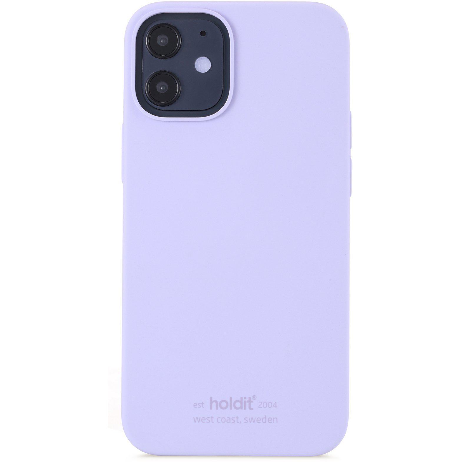 Silikonikuori iPhone 12 Mini Lavender