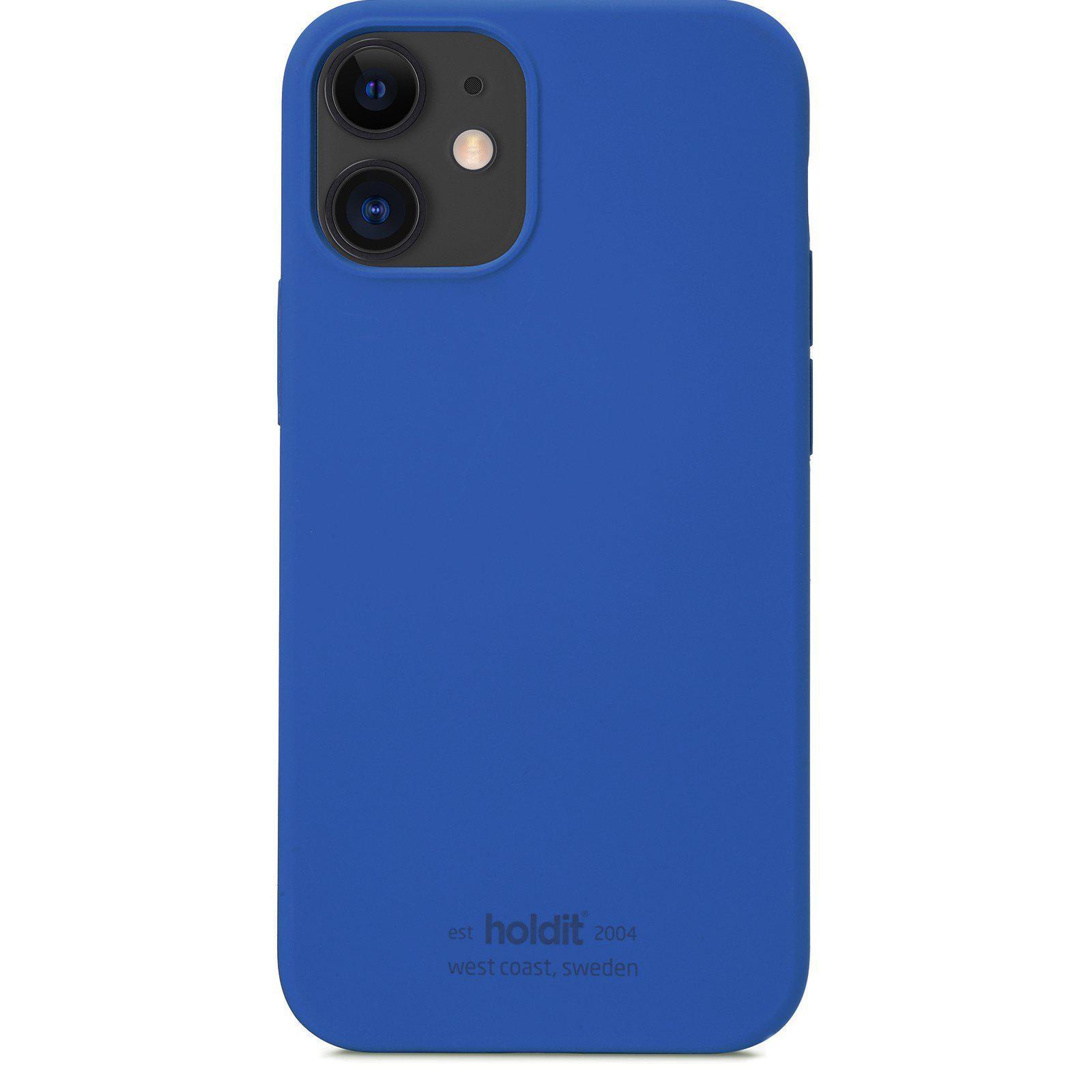 Silikonikuori iPhone 12 Mini Royal Blue