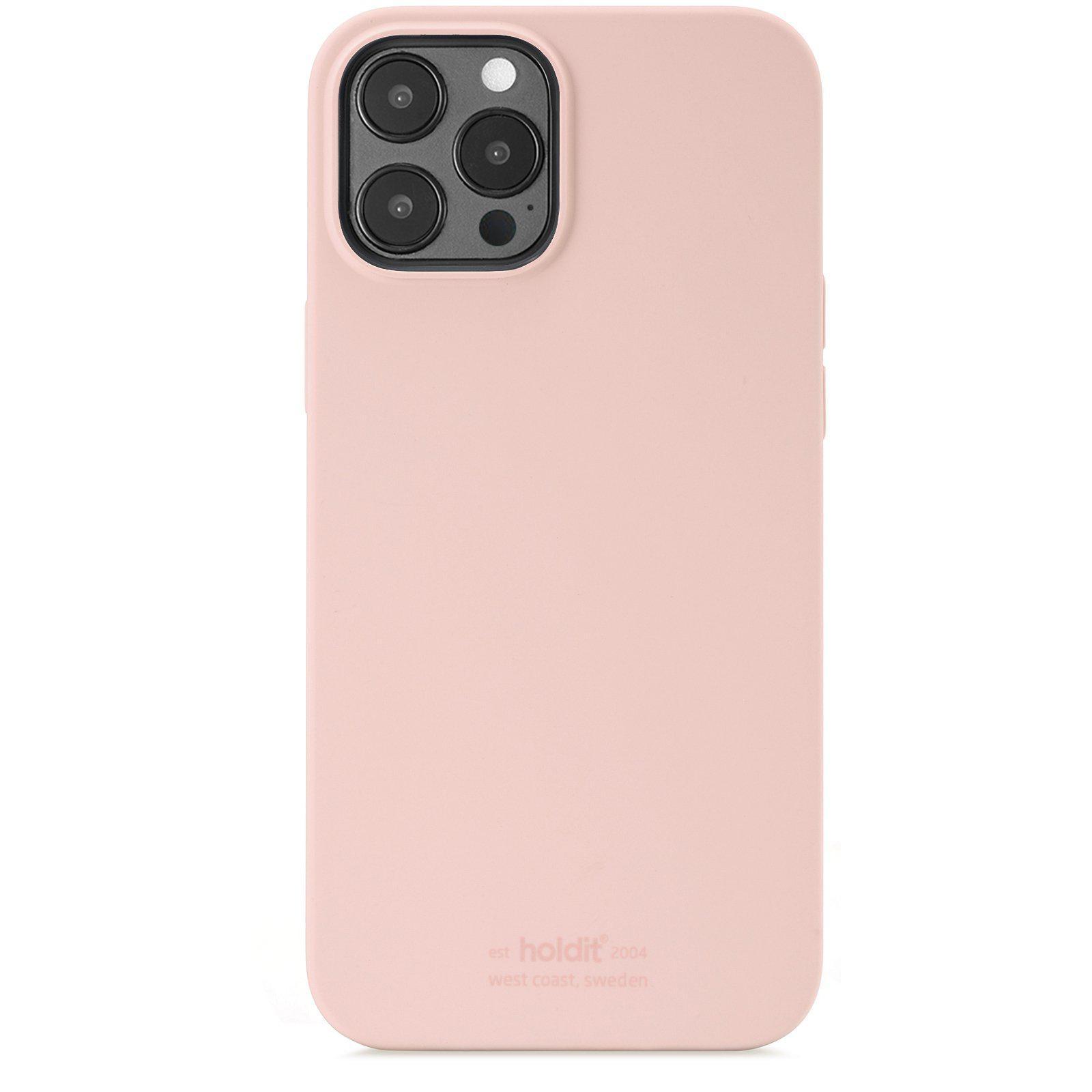 Silikonikuori iPhone 12 Pro Max Blush Pink