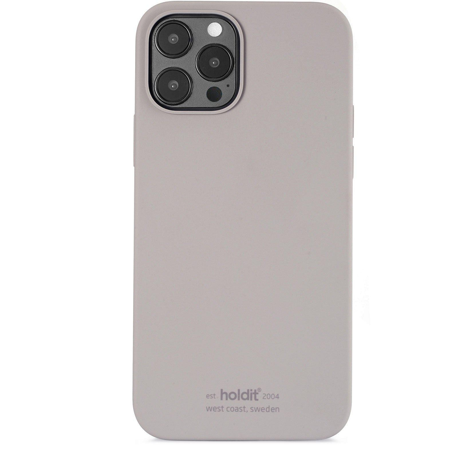 Silikonikuori iPhone 12 Pro Max Taupe